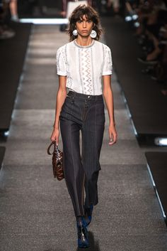 Louis Vuitton Spring 2015 Ready-to-Wear - Collection - Modern Indigo Jeans
