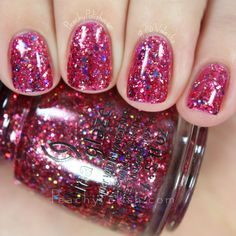 China Glaze Ugly Sweater Party   Cheers! Collection   Peachy Polish