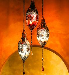 Beautiful Moroccan lanterns. Find everything you need to plan your own Arabian Nights, Moroccan or Casablanca Party at http://sparklerparties.com/arabian-nights