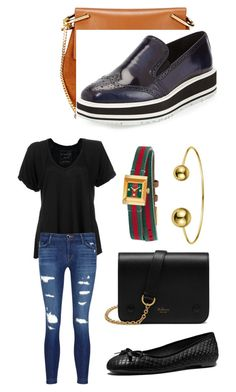 """My fave colors"" by ran616 on Polyvore featuring Chloé, Prada, Free People, J Brand, Mulberry, Gucci and MICHAEL Michael Kors"