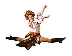 Ukrainian Dancer - remember seeing these at Ukrainian festivals with my family.