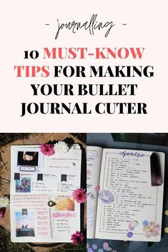 Easy ways to make your journal cute Stationery, Super Cute, Bullet Journal, Notes, Magic, Make It Yourself, Creative, Tips, Easy
