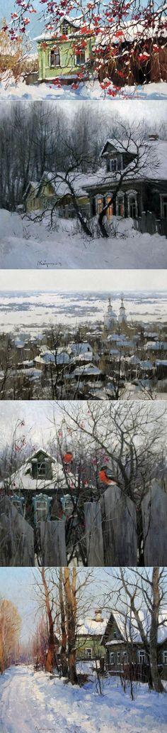 Зимние пейзажи Алексея Савченко - Копилочка: все самое интересное,полезное, красивое!!! - Группы Мой Мир