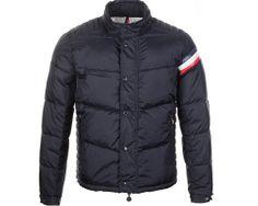 Moncler Chamonix Men Buttons Black Short Down Coat 6707