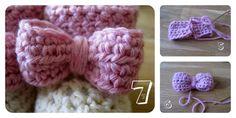 Crochet Bow (Free Pattern)