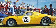 """1965 24 Ore Di LeMan Ecurie Francorchamps  Ferrari 250 LM V12 P4.0 Piloti Gérald Langlois van Ophem """"Eldé"""""""
