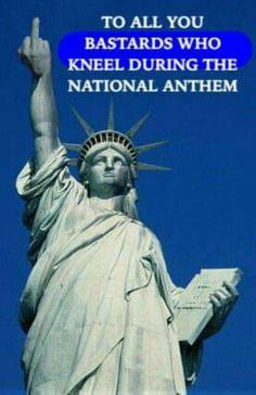 Statue of Liberty salutes the kneelers! ❣Julianne McPeters❣ no pin limits Meryl Streep, Liberty Statue, National Anthem, American Pride, God Bless America, Before Us, Usmc, Patriots, Wake Up