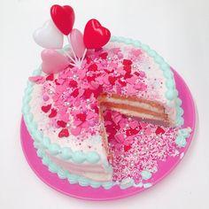 Lovely Decoration Cake ✩*⋆ #honeybunchmutualcookie  #cake #KUNIKA