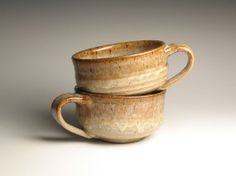 2 soup bowl stoneware by brentsmithpottery on Etsy