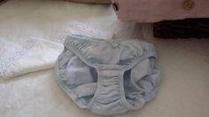 Ladies Panties Blue Panties Linen Panties Linen Knickers