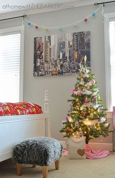holiday decorating for teen girls christmas tree for bedroomdiy