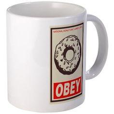 OBEY Donuts Mug