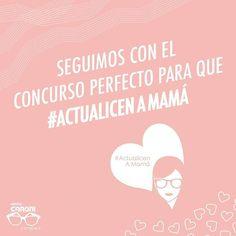 El #concurso para las madres de Venezuela sigue activo. No pierdas la oportunidad y #ActualicenAMamá con una montura nueva y un día diferente en nuestras tiendas. Busca la imagen del concurso, sigue las instrucciones, indica de donde nos escribes y listo, ya estas participando. #VenYVerás