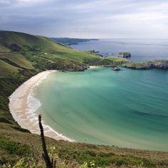 Playa Torimbia, Asturias (Spain)