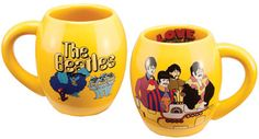18 OZ YELLOW SUBMARINE OVAL MUG [7722] - $13.00 : Beatles Gifts, The Fest for Beatles Fans