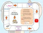 Frisson l'écureuil : plateau de jeu de compréhension French Teaching Resources, Teaching French, Core French, French Class, Scaredy Squirrel, Author Studies, Teaching Materials, Reading Activities, French Language