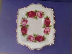 A personal favorite from my Etsy shop https://www.etsy.com/ca/listing/289367393/royal-albert-old-english-rose-bone-china