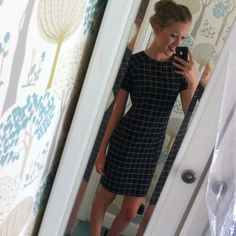 Grid dress #grid #dress #outfits #school #evening #casusl