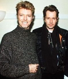 David Bowie & Gary Oldman