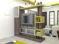 modern TV cabinet Wall units furniture designs ideas for living room