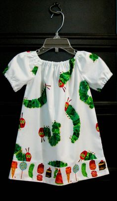 Hey, I found this really awesome Etsy listing at https://www.etsy.com/listing/110776111/very-hungry-caterpillar-dress