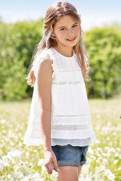 Buy Panel Blouse (3-16yrs) online today at Next: United States of America