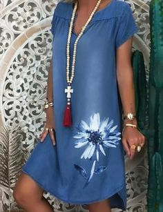 Denim Midi Dress, Womens Denim Dress, Denim Dresses, Denim Summer Dresses, Dresses Dresses, 1950s Dresses, Cotton Dresses, Party Dresses, Lace Dress