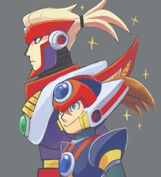 Red and Axl Megaman Zero, Megaman Series, Fighting Robots, I Go Crazy, Manx, Gremlins, Game Character, Video Games, Nostalgia