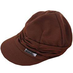 Partiss Women Leisure Fold Cap,one size,coffee Partiss