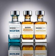 Blue Nectar Tequila - The Dieline -