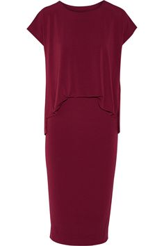 Bixia stretch-crepe dress | By Malene Birger | UK | THE OUTNET