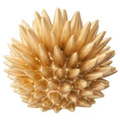 "Nate Berkus for Target® Urchin - 4"" Brass: Who doesn't love gold spikes? Yowza! $10"