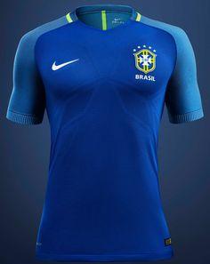Brazil 2016 Copa America Away Kit Revealed