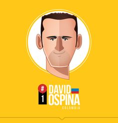 David Ospina (or Spina Man as we've taken to calling him) of Colombia. #WorldCup   MI SELECCIÓN COLOMBIA by Edgar Rozo, via Behance