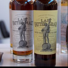 Compass Box Last Vatted Malt (already in my collection!) and Last Vatted Grain