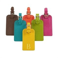 Luggage Tags-Brights Leather