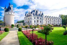 Slottet Chenonceau i Frankrike #chenonceau #castle #slott #frankrike #france