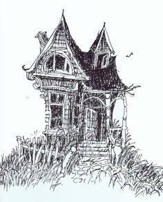 Invitation by Shel Silverstein Lovely Shel Silverstein Enter This Deserted House but Please Shel Silverstein Books, Where The Sidewalk Ends, Printable Invitation Templates, Cross Hatching, House Drawing, Invitations, Business Invitation, Invitation Wording, Character Design