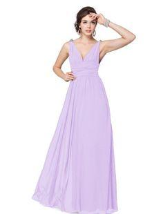 AMAZON. 40 dollars dress. Ever Pretty Elegant V-neck Long Chiffon Crystal Maxi Evening Dress 09016, HE09016QP06, Light Purple, 4US Ever-Pretty,http://www.amazon.com/dp/B008EF378U/ref=cm_sw_r_pi_dp_zk9zsb1HH24CWVJ9