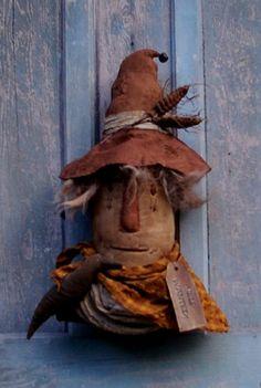 Primitive Turkey Pattern | Keeper of the Corn Halloween ScareCrow Pattern