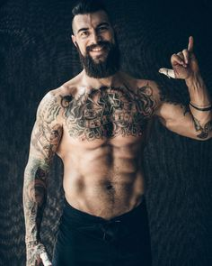 77.1k Followers, 2,193 Following, 2,633 Posts - See Instagram photos and videos from Dave Driskell (@davedriskell) - full thick dark beard mustache beards bearded man men tattoos tattooed fitness muscles bearding #beardsforever