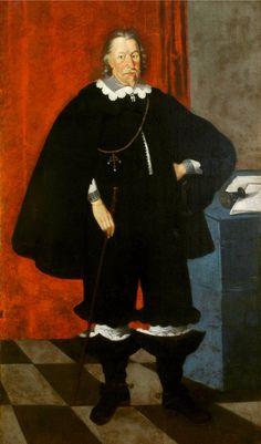 Portrait of Albrecht Stanislaus Radziwill by Peter Danckerts de Rij, 1640s (PD-art/old), National Arts Museum of the Republic of Belarus