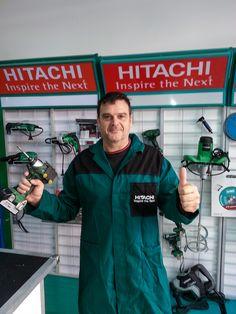 """Il nostro rivenditore """"Diomi"""" di Roma condivide con noi la sua passione per Hitachi! #wearehitachi"""