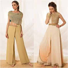 Style 2018 zara ideas for 2019 Western Dresses, Indian Dresses, Indian Outfits, Crop Top Designs, Blouse Designs, Indian Designer Outfits, Designer Dresses, Zara, Bollywood Fashion