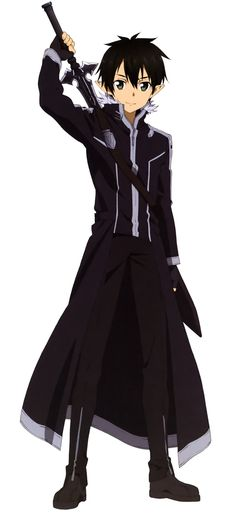 Sword Art Online, Kirito, official art