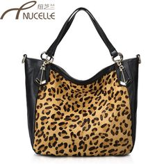 Aliexpress.com : Buy Autumn and winter genuine leather   horsehair cowhide shoulder  leopard print cross body   bag women fashion designer from Reliable sport messenger bag suppliers on SaraMary Handbag Wholesale . $63.38