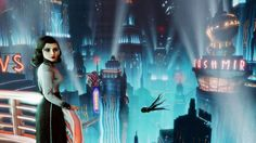 BioShock Infinite: Burial at Sea, DeWitt & Elizabeth Return to the Underwater City of Rapture in New DLC Bioshock Infinite, Bioshock Game, Bioshock Series, Video Game News, Video Games, Bioshock Remastered, Irrational Games, Underwater City, Interview