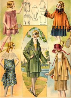 1919 teens a girls fashion. Love it. All. Hairstyles included.