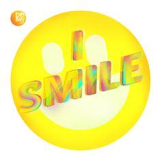 2. I smile