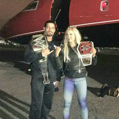 Roman Reigns & Charlotte